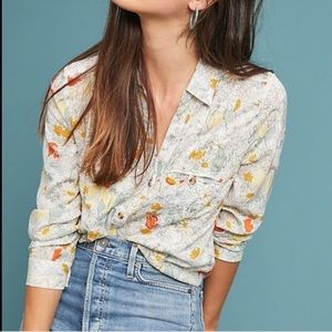 12 of 52 Conversations Button Down Floral Top